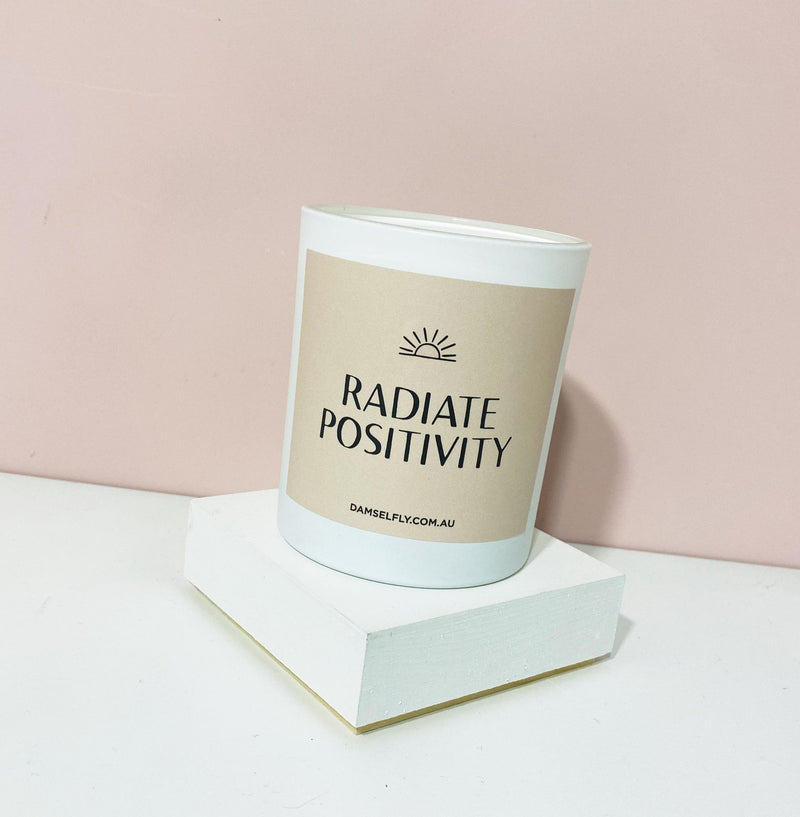 Radiate Positivity Candle