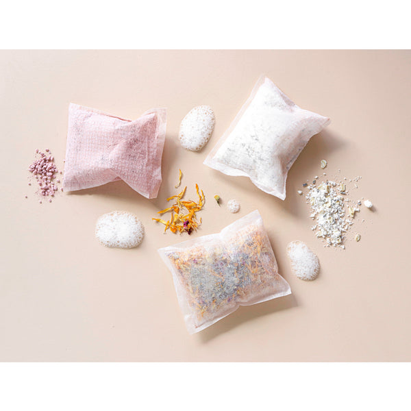 Organic Pink Bath Brew Pockets