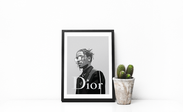 A$AP for DIOR - DG Designs