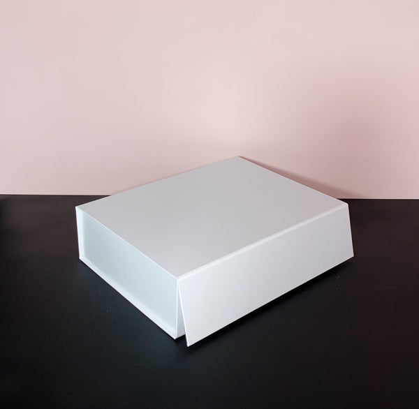 Personalised White Box With Magnetic Close