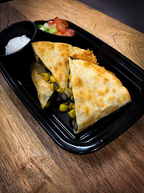 Black Bean and Corn Quesadilla D