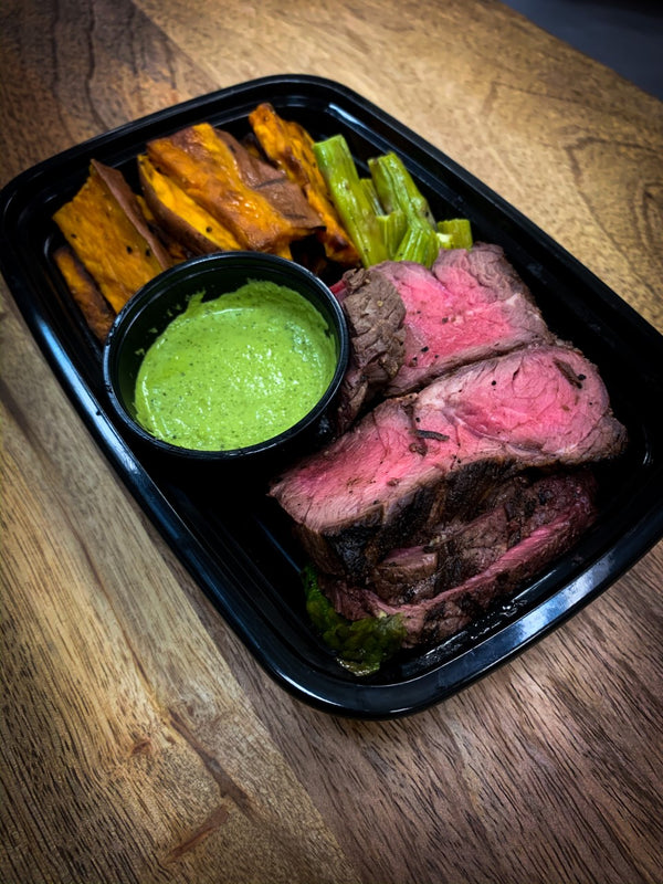 London Broil with Chimichurri D