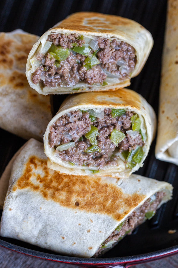 Philly Cheesesteak Wrap D