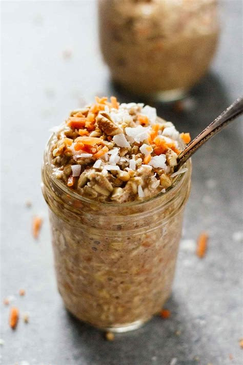 Carrot Cake Overnight Oats R