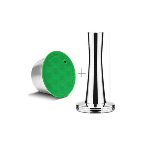 iCafilas Stainless Steel Reusable Capsules Crema Line for Nescafé Dolce Gusto Machines