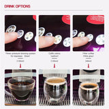 ICafilas Stainless Steel Refillable Reusable Cafissimo Coffee Capsule Cafeteira Filter for Caffitaly & Tchibo Classic Machine