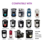Stainless Steel Keurig Refillable coffee Capsule Reusable K-cup Filter for 2.0 & 1.0 Brewers k cupfor Keurig machine