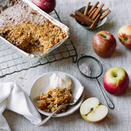 Apple, Almond & Oat Crumble