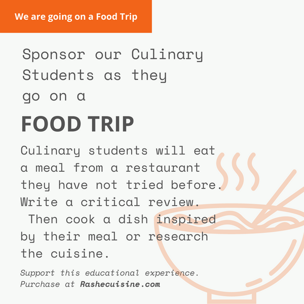 ACCA Culinary Food Trip Culinary Student Sponsorship