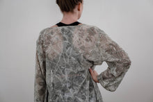 Load image into Gallery viewer, Mint Paisley Textured Chiffon