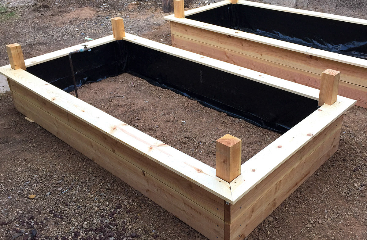 Easy Weekend Project: Build Your Own Raised Garden Beds.