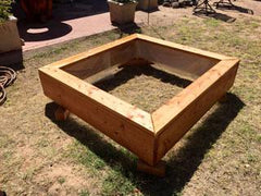 Square Raised Garden Bed