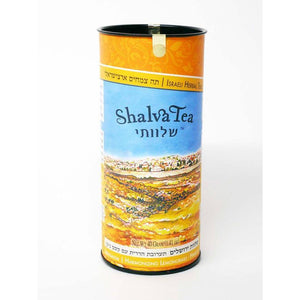 Jerusalem Harmonizing Lemongrass-Hibiscus Israeli Herbal Tea - ShalvaTea - Israel Menu