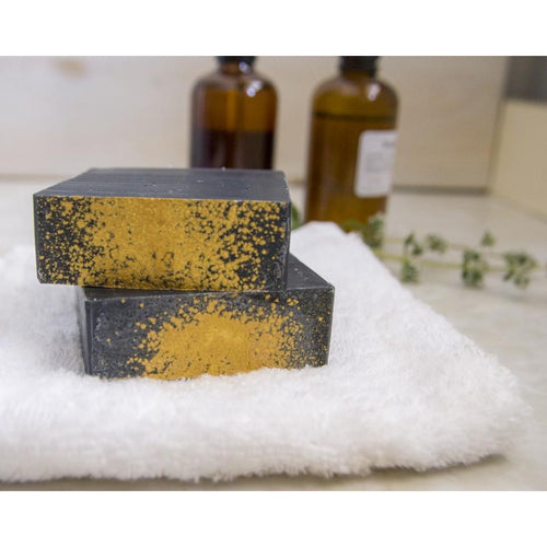 Facial soap with activated charcoal - Tree of Life - Israel Menu