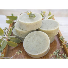 Load image into Gallery viewer, Cylindrical soap with sage and zatar - Tree of Life - Israel Menu