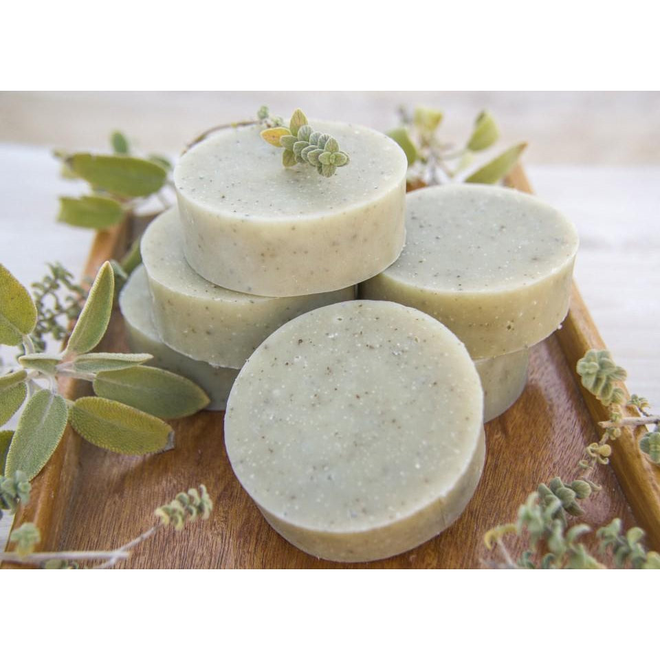 Cylindrical soap with sage and zatar - Tree of Life - Israel Menu