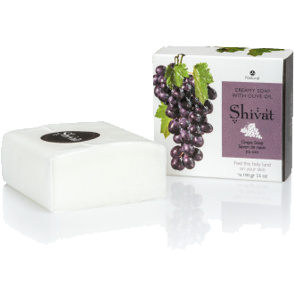 Creamy Grape Soap with Olive Oil-Shivat-Israel Menu