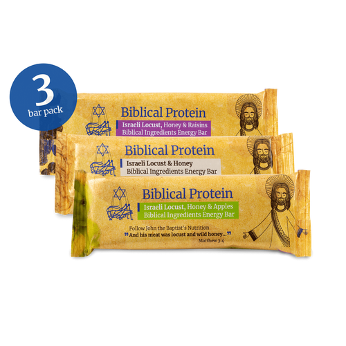 Locust Energy Bars - Biblical Protein - Israel Menu