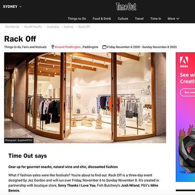 RACK OFF according to Time Out