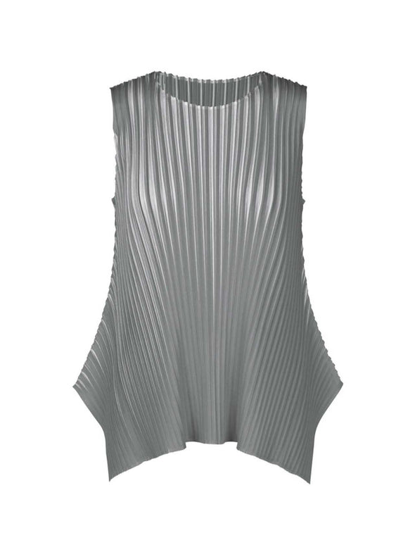 Pleats Please Grey Alt Sunlight Top