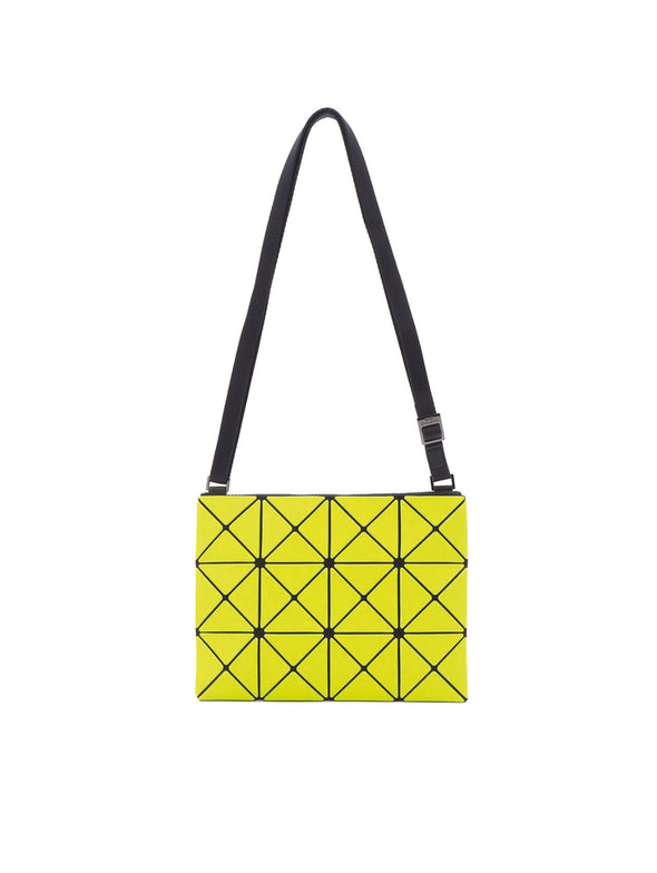 Bao Bao Issey Miyake Lime Yellow Crossbody Shoulder Bag
