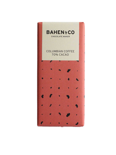 Bahen & Co Columbian Coffee Dark Chocolate