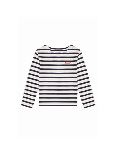 Maison Labiche Bonjour Long Sleeve Sailor Shirt