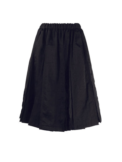 CDG CDG Black Pleated Skirt