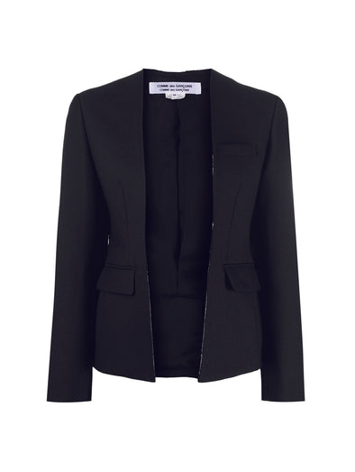 CDG CDG Black Raw Cut Blazer