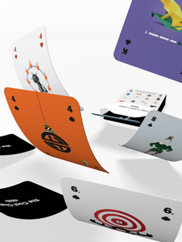 Favourite Website Awards - Playing Cards