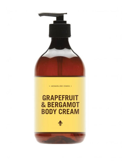 Jacqueline Evans Grapefruit & Bergamot Body Cream