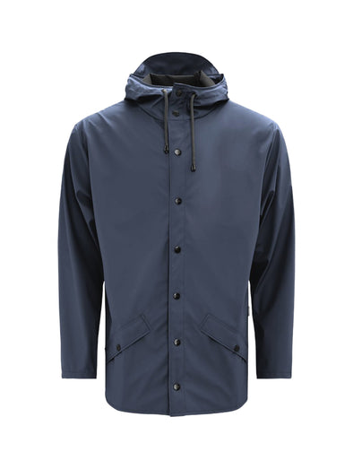 Rains Navy Jacket