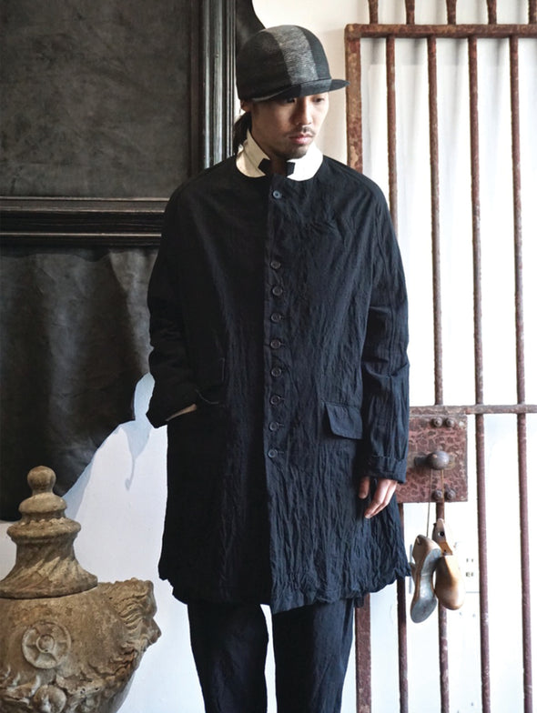 Klasika Black Chrono Cut Coat