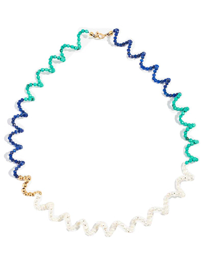Lucy Folk Ettore Blues Necklace
