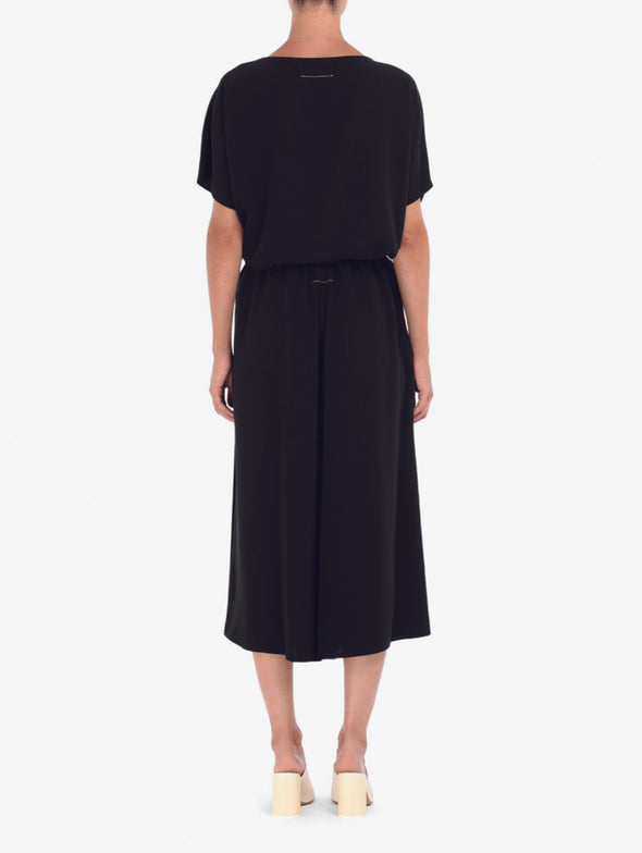 MM6 Black Pleated Cullotes