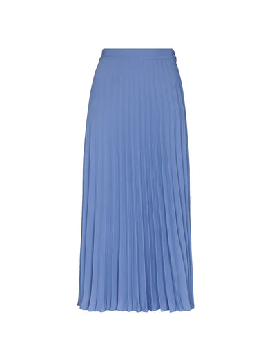 MM6 Blue Pleated Skirt