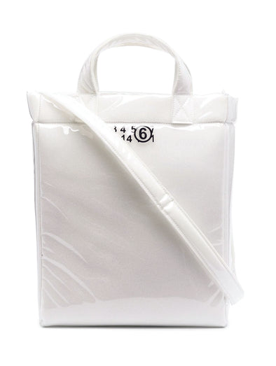 MM6 White Foam Tote Large