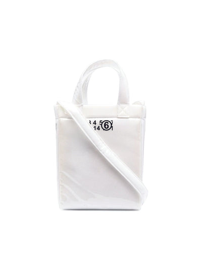 MM6 White Foam Tote Small