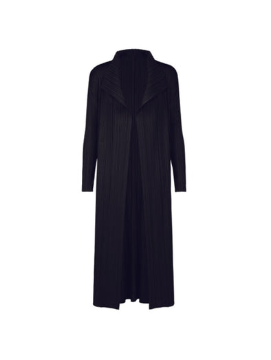 Pleats Please Black Limited Dress Coat