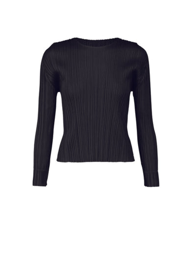Pleats Please Black Monthly Colour Top