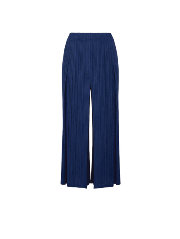 Pleats Please Issey Miyake Navy Blue Pants