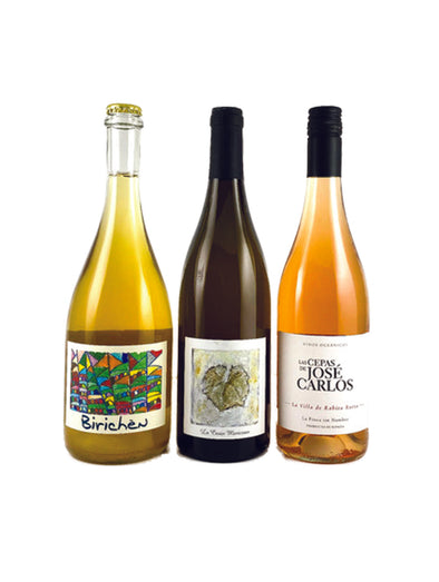 Natural Wine Three Pack: Rose, White and Sparkling