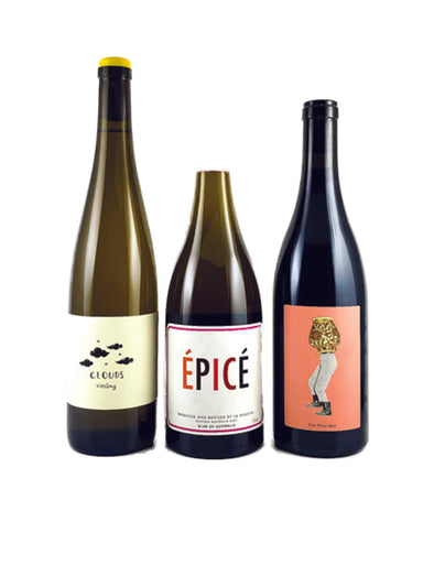 Natural Wine Three Pack: Orange, White & Red