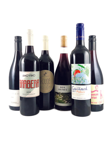 Half Dozen Natural Red Wine Pack