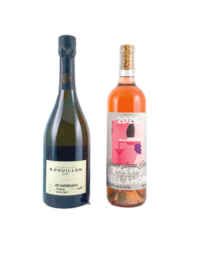 Limited February Release: French Champagne & Rose Wine Two Pack