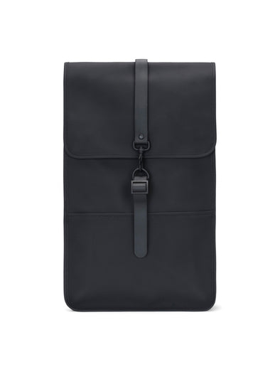 Rains Black Backpack