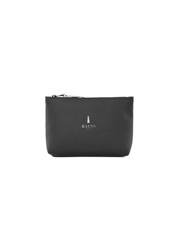 Rains Black Cosmetic Bag