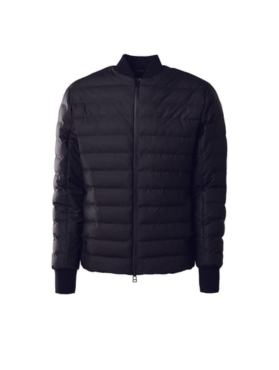 Rains Black Trekker Jacket