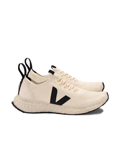Veja x Rick Owens Cream V Knit Shoes