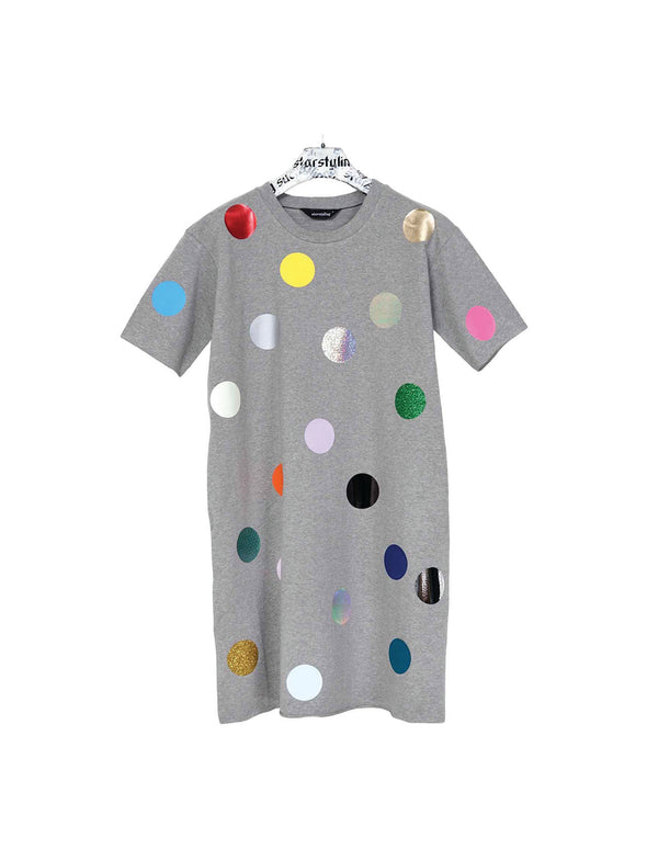 Star Styling  Grey Balls Dress